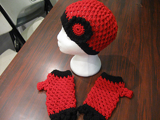 Hat_and_fingerless_gloves_set_bfs_red_and_black_small2