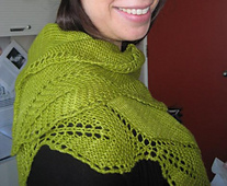 Garden View Shawlette / Miss Ourlet
