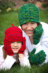 Mom & Me Hat and Gloves PDF