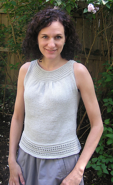Pebble Tank by Nancy Eiseman