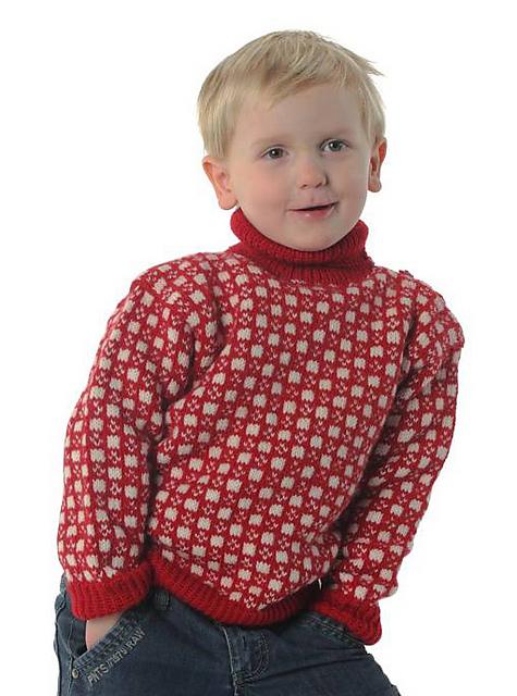 haralds genser oppskrift
