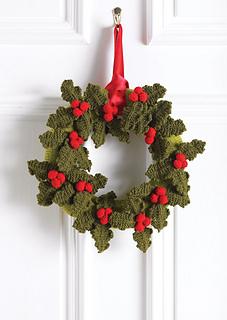 Festone natalizio a maglia