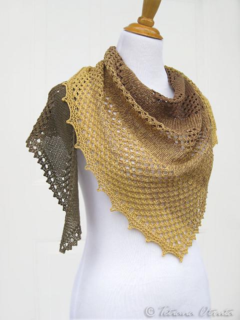 披肩-Bosc Pear - Tina - Tina的手工编织的博客