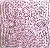Ravelry: 2 Pineapple Granny Squares pattern by Priscilla Hewitt