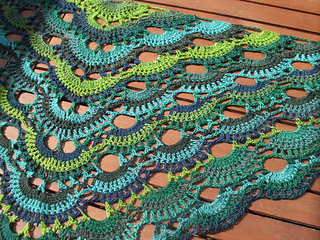 Free Crochet Pattern For A Virus Shawl : Virus Shawl Crochet Tutorial Part 1 Woolpedia Cars