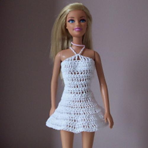 Free Crochet Dress Pattern For Barbie : Free Crochet Barbie Doll Clothes Patterns 2017 - 2018 ...