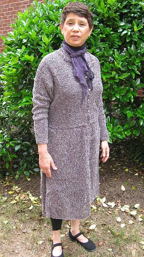 Habu_-_paper_silk_coat_dress_-_kit_100_-___116__-_front_with_kushu_kusku_scarf_medium