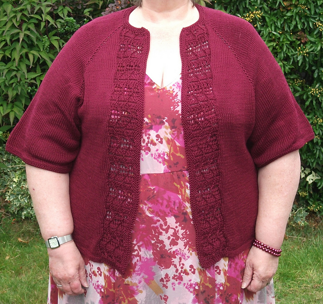 Knitting Patterns Plus Size : Knitting at large october