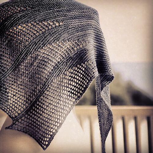 Photo of Artesian knit shawl