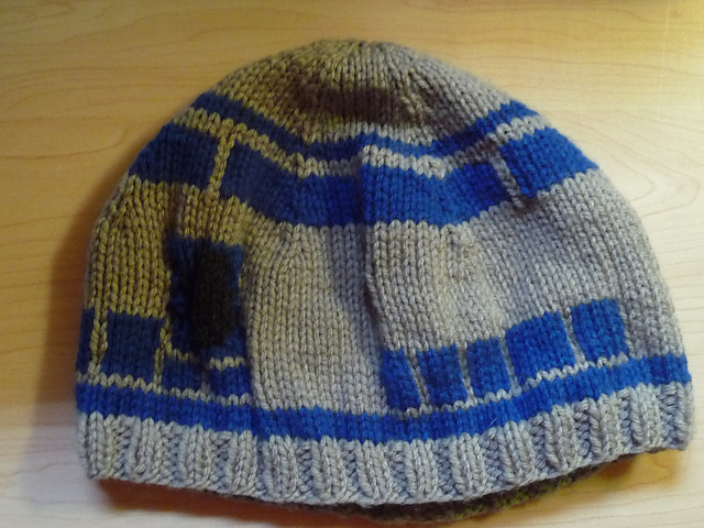 R2d2 Hat Knitting Pattern : R2D2 Hat - KNITTING