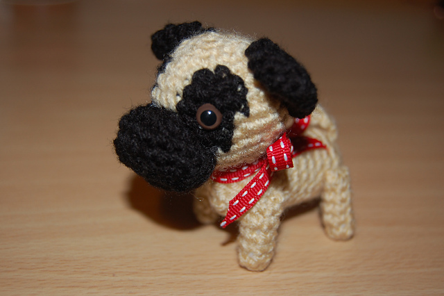 Free Crochet Pattern For Pug Dog : Saskis Fiber Crafts