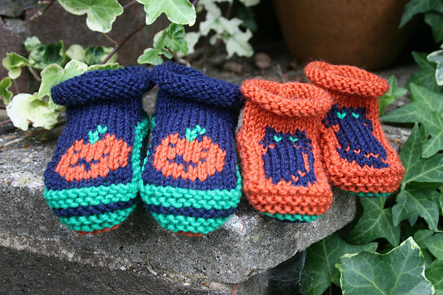 Halloween Booties by S Leake