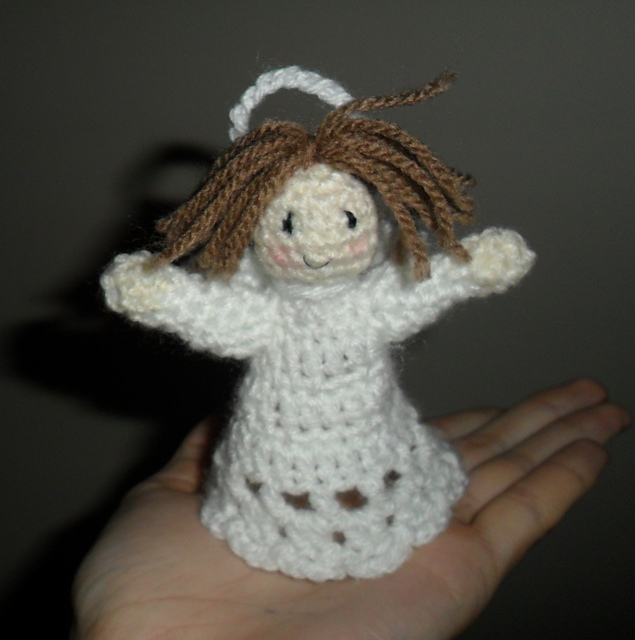 Easy Free Crochet Angel Pattern : 10 FREE Angel Crochet Patterns The Steady Hand