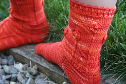 Poppy Fields Socks