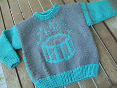 Drummer Boy Sweater