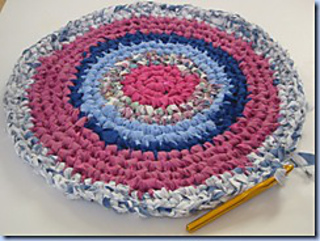 Ravelry: Circular Rag Rug pattern by The Sunroomuk