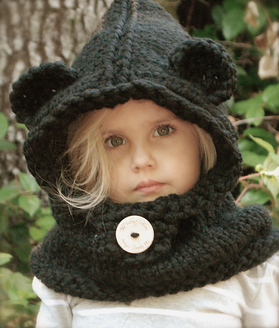 Free Crochet Pattern For Hooded Cowl With Ears : Ma semaine Pinterest #5 Sous Une Etoile