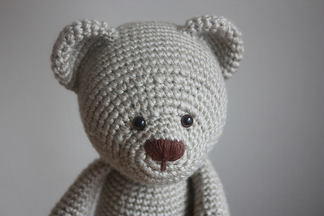 Amigurumi Teddy Bear Free Patterns : Free crochet patterns for a teddy bear ~ dancox for .