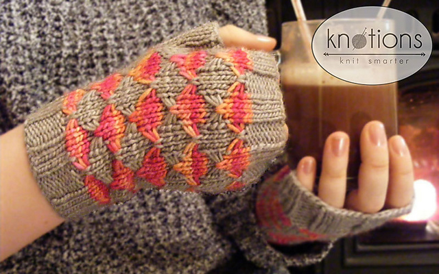 Maquereau Mitts in Manos Silk Blend