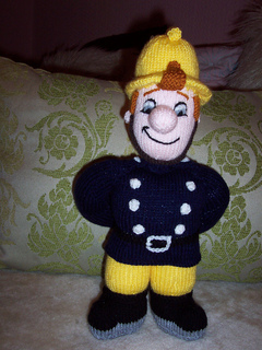 Ravelry: Fireman Sam pattern by Alan Dart