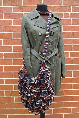 Knitting Or Crocheting Classes : Knit or crochet ruffle yarn scarf class