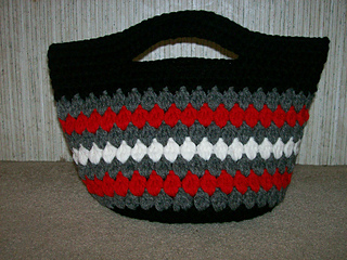 Ravelry: Cluster Stitch Bag Crochet Tutorial - Ideas for ...