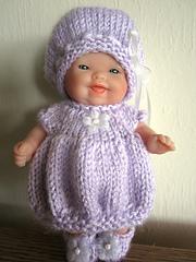 Ravelry Bubble Dress Amp Hat Set 5 Inch Itty Bitty Baby
