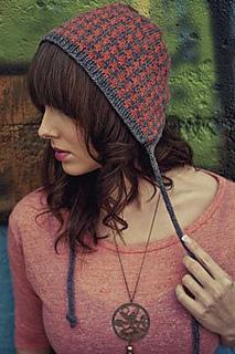 Houndstooth-bonnet
