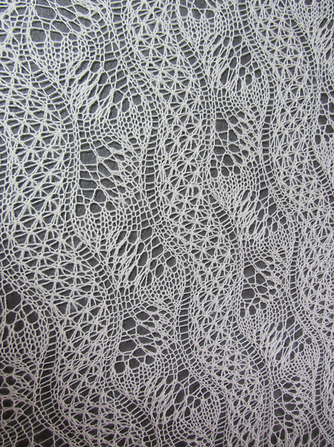 All Knitted Lace: Finished Objects: Dunes and Waves from my readers