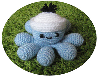 Amigurumi Pikachu Pattern Free : Ravelry: Amigurumi Sailor Octopus pattern by Eden Dintsikos