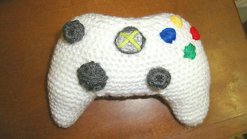 Knitting Project of the Day: Xbox controller amigurumi