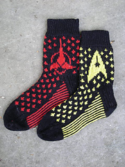 Star Trek Socks