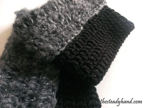 fuzzy boot toppers