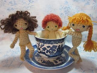 Ravelry: Teacup Spirit Doll pattern by Beth Ann Webber