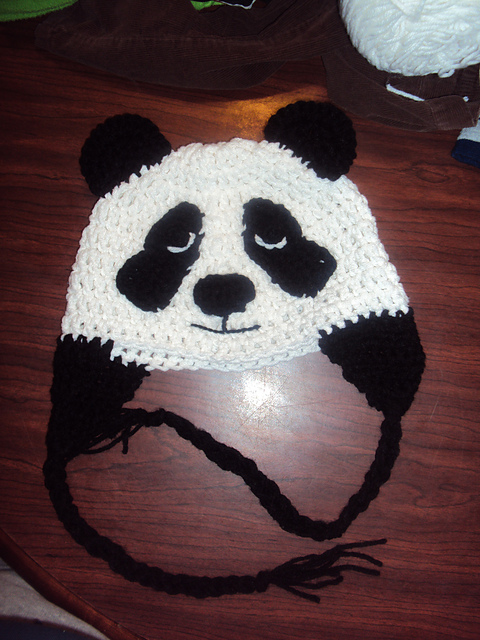 Crystal Panda: Free Panda Hat Crochet Patterns + Bonus