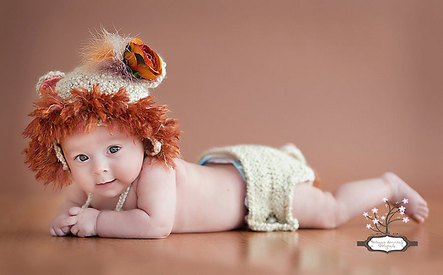 Earflap Lion Hat Free Crochet Patterns