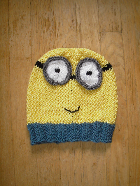 Minion Knit Hat Pattern Free : Free knitting pattern downloads - Despicable me - etc - HotUKDeals
