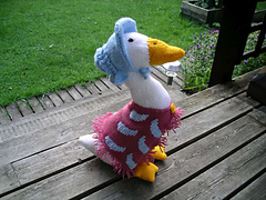 Knitting Pattern For Jemima Puddle Duck : Ravelry: Jemima Puddleduck pattern by Alan Dart