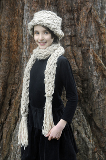 Lydia_flame_scarf_with_matching_brimmed_hat_small2