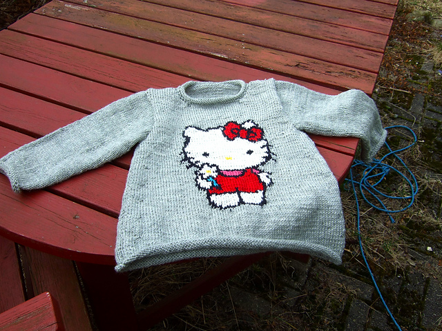 Knitting Pattern Hello Kitty : Friggatriskaidekaphobia Knit Run, Purl Run