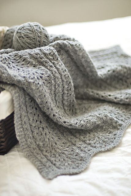 The Modern Baby Blanket - Cornwall Yarn Shop, Ltd.