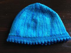 Ravelry Machine Knitting Short Row Baby Hat Pattern By