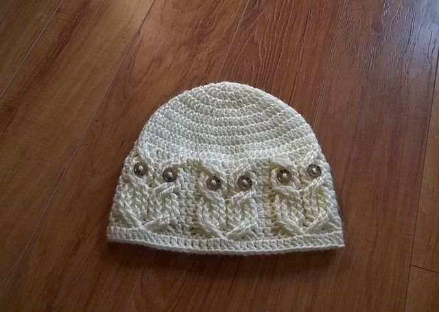 Crochet Pattern For Newborn Owl Hat : Oh Baby, Baby Knit Run, Purl Run