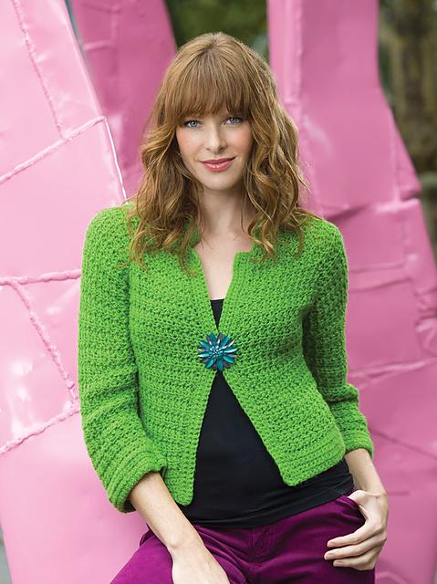 Sparkling Crochet Cardi
