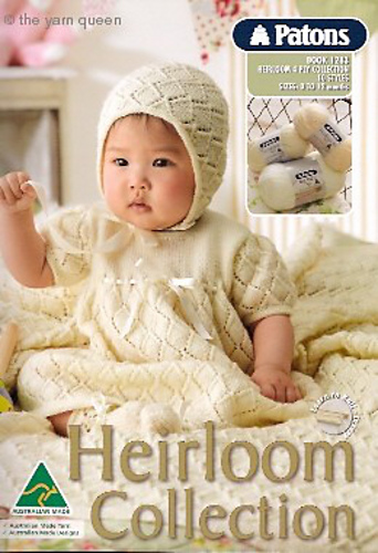 Patons Knitting Pattern Archive : Ravelry: Patons #1283, Heirloom 4 ply Collection - patterns