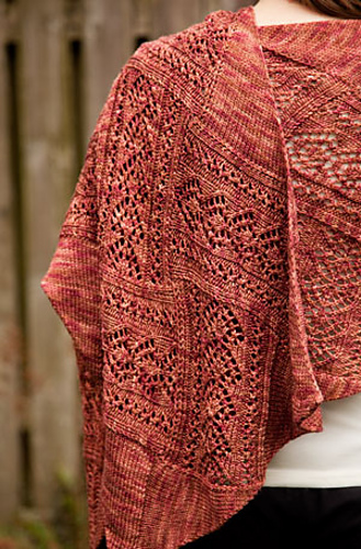 Lace shawl, shawl, knitting, lace, knitted lace, Chrissy Gardiner, Stampede, women's accessories