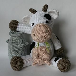 Tutorial Vaca Amigurumi Cow : Ravelry: Klaartje pattern by Christel Krukkert