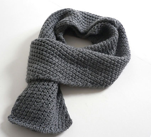 Extra Warm Men's Scarf by Cotton and Cloud