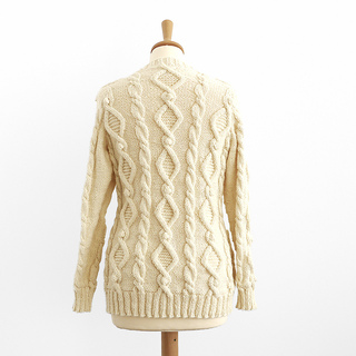 Aran Cardigan Knitting Patterns Free : Ravelry: Land Girl: Cable Aran Cardigan (Top Down) pattern by Kyoko Nakayoshi