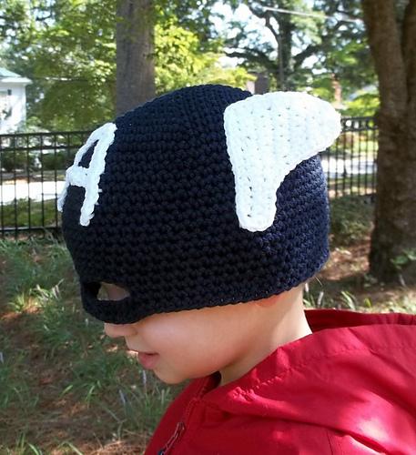 Captian America Hat Pattern by Robin Croninger ($5)